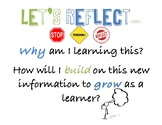 """Reflection Poster """"Let's Reflect..."""""""