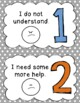 Reflection Posters (Numbered Posters for Student Learning Reflection)