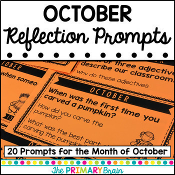 Reflection Prompt Cards for the Entire Year - GROWING BUNDLE