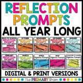 Reflection Prompt Discussion Cards BUNDLE for the Entire Year