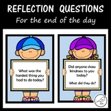Reflection Questions for the End of the Day