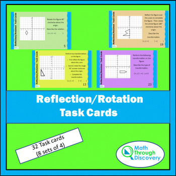 Reflection-Rotation Task Cards