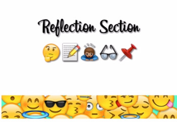 Reflection Section Sign