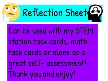 Reflection Sheet