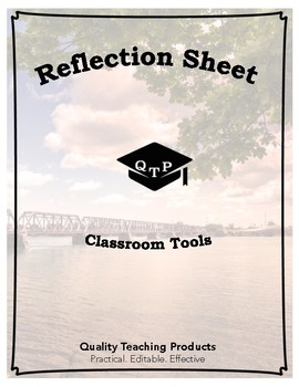 Reflection Sheet: Bell-to-Bell Teaching Tool