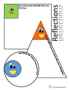 Reflection Sheet - Bilingual