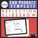 Learning Reflection Template: Slideshow {Editable, Digital