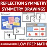 Reflection Symmetry: Symmetry Drawings