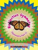 Reflection Symmetry (Symmetry Part 1) {Geometry Activity}