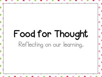 Growth Mindset Inspired Reflection System | Reflective Thinking