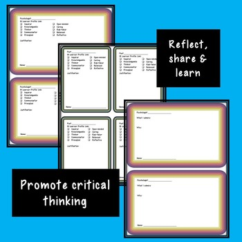 Reflection Task Cards