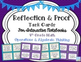 Reflection Task Cards for Interactive Notebooks
