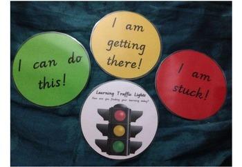 Reflection Traffic Light Keyring Assessment