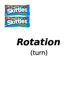 Reflection, Translation, Rotation Posters