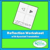 Reflection Worksheet with Spanish Translation