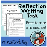 Reflection Writing Assignment for the End of the School Year