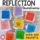 Reflection Writing Prompts and Conversation Starters BUNDLE