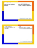Reflection and Exit tickets