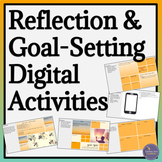 Reflection and Goal Setting Graphic Organizers for Middle School and High School