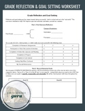 Reflection and Goal Setting Worksheet