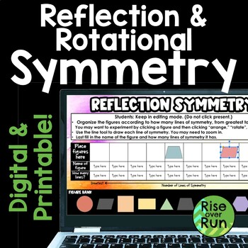 Reflection and Rotational Symmetry Poster Project