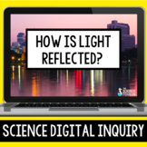 Reflection of Light Digital Inquiry   Distance Learning   Google Classroom