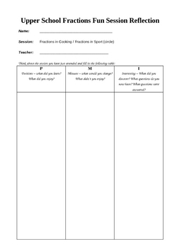Reflection sheet