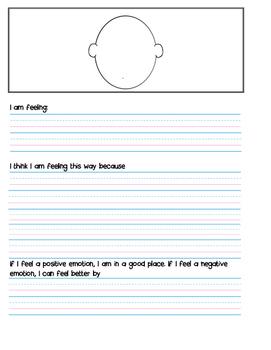 Reflection sheet for kids