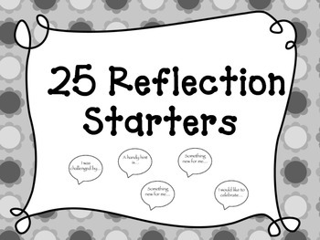 Reflection starters