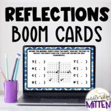 Reflections Across the X and Y Axis Boom Cards - Perfect f