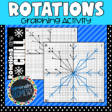 Rotations Are Chill Graphing Activity; Geometry, Transformations