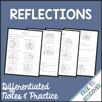 Reflections Notes and Practice (Differentiated)