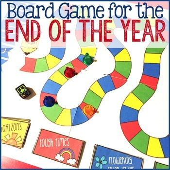 Reflections: End of the Year Board Game -  School Counseling