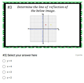 Reflections (Google Form & Interactive Video Lesson!)