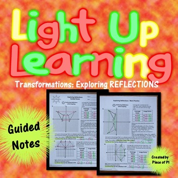 Transformations Reflections Guided Notes