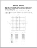 Reflections Homework Sheet