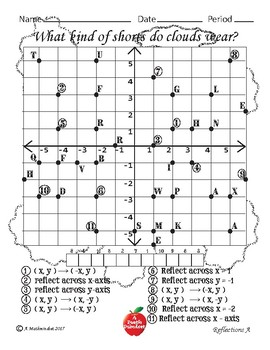 Reflections Riddle Page