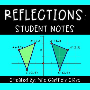Reflections: Student Notes