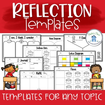 reflection templates for any topic book or idea by paula s place