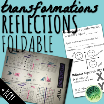 Reflections - Transformation Notes