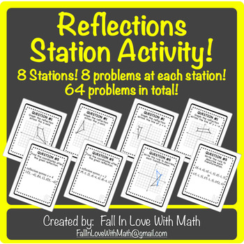 Reflections (Transformation) Station Activity!
