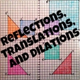 Reflections, Translations, and Dilations Exploration