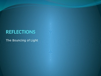 Reflections and Refractions Powerpoint