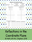 Reflections in the Coordinate Plane