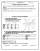 Reflections in the Coordinate Plane Editable Word Doc.