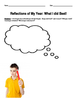 Reflections of My Year:  What I Did Best!