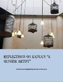 """Reflections on Kafka's """"A Hunger Artist"""""""