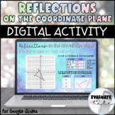 Reflections on the Coordinate Plane Digital Activity for Google Slides™