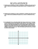 Reflections on the Coordinate Plane Worksheet