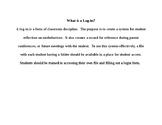 Reflective Discipline System:  Logins